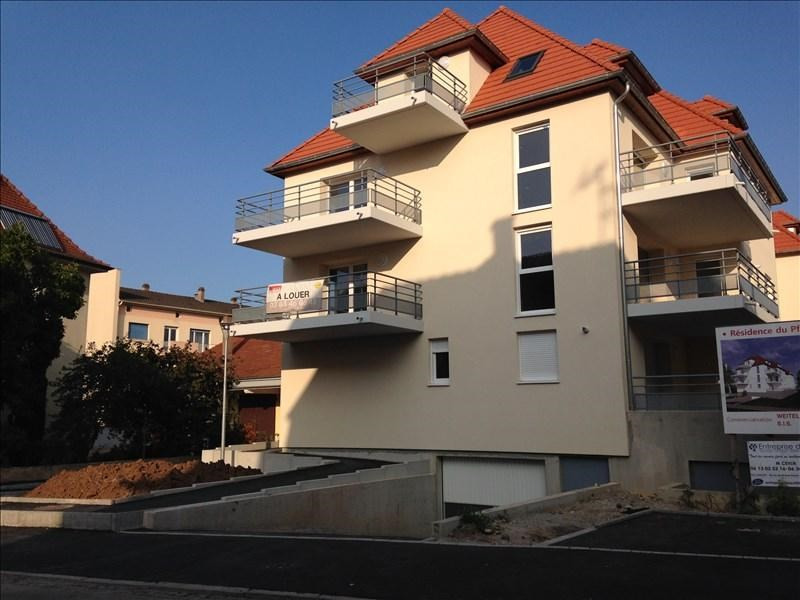 Rental apartment Schiltigheim 525€ CC - Picture 1