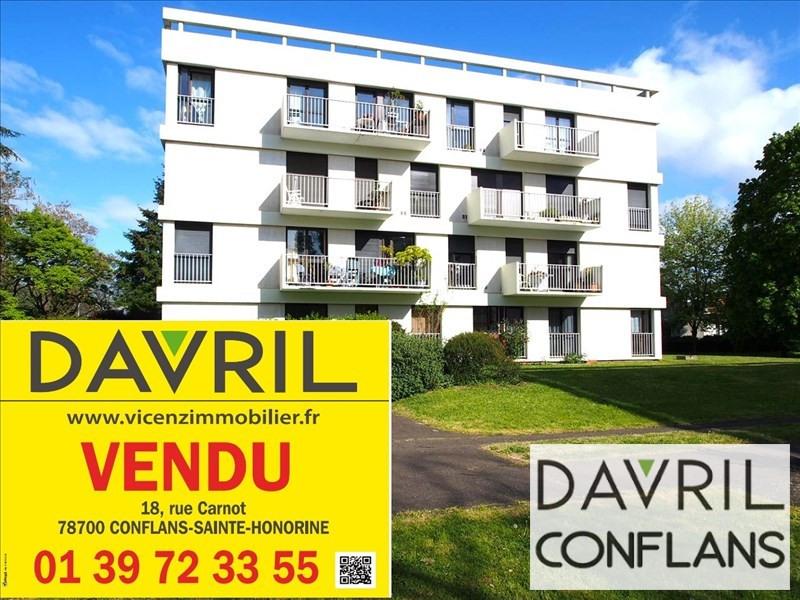 Vente appartement Conflans ste honorine 212000€ - Photo 1
