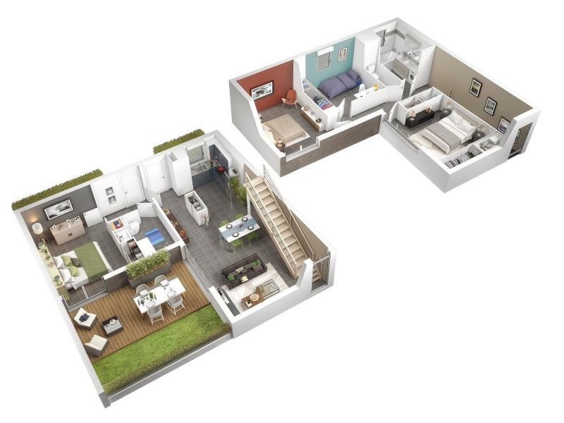 Vente maison / villa Toulouse 417000€ - Photo 1