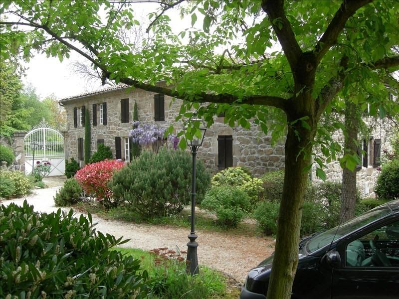 Vente de prestige maison / villa Annonay 465000€ - Photo 1