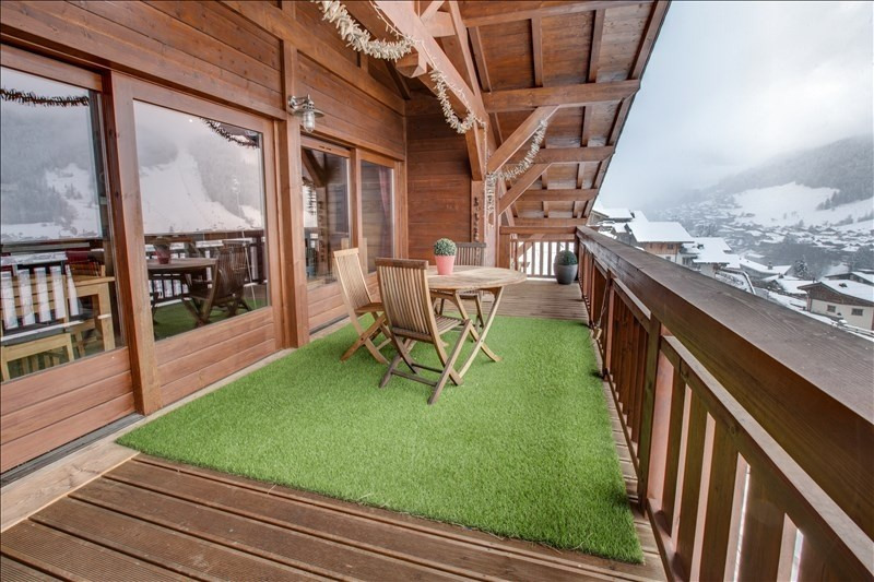 Verkoop van prestige  appartement Morzine 560000€ - Foto 3