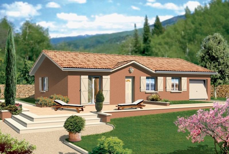 Maison  4 pièces + Terrain 500 m² Vézeronce-Curtin par MAISONS PUNCH