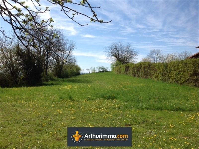 Vente terrain St victor de morestel 88000€ - Photo 1