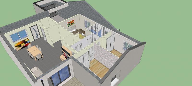 Vente maison / villa Vouneuil sous biard 190000€ - Photo 5