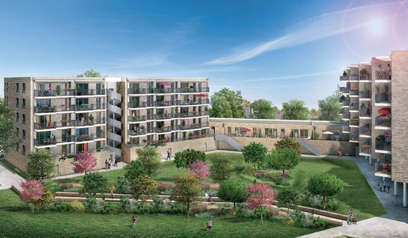 Cour magenta programme immobilier neuf toulouse for Jardin niel toulouse