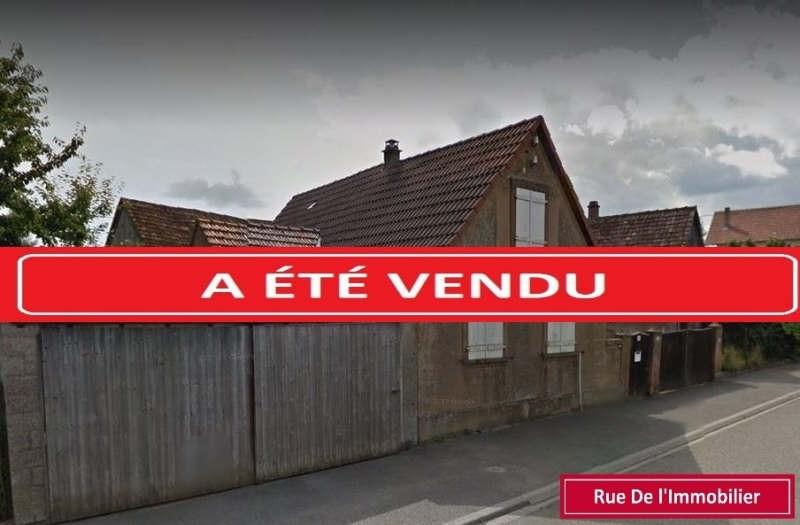 Vente maison / villa Waldolwisheim 184990€ - Photo 1