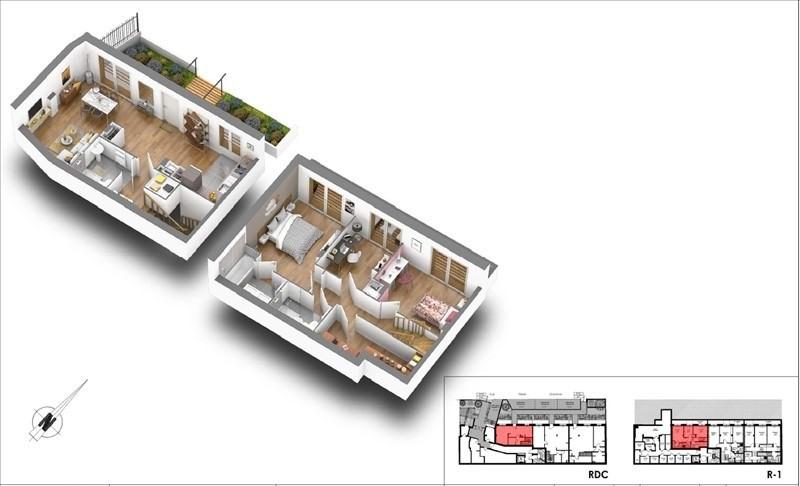 Sale apartment Courbevoie 606000€ - Picture 4