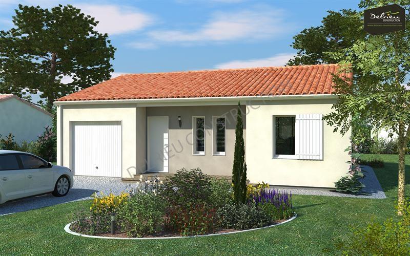 Maison  4 pièces + Terrain 479 m² Chauray par DELRIEU CONSTRUCTION