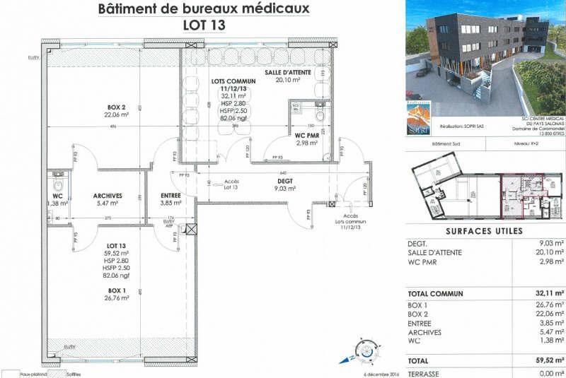Vente bureau Salon de provence 341000€ - Photo 2