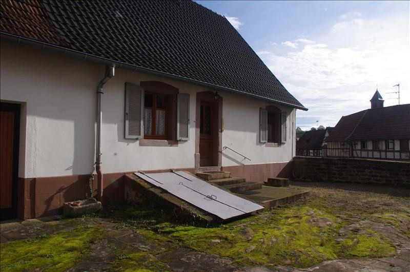 Vente maison / villa Weiterswiller 101000€ - Photo 1