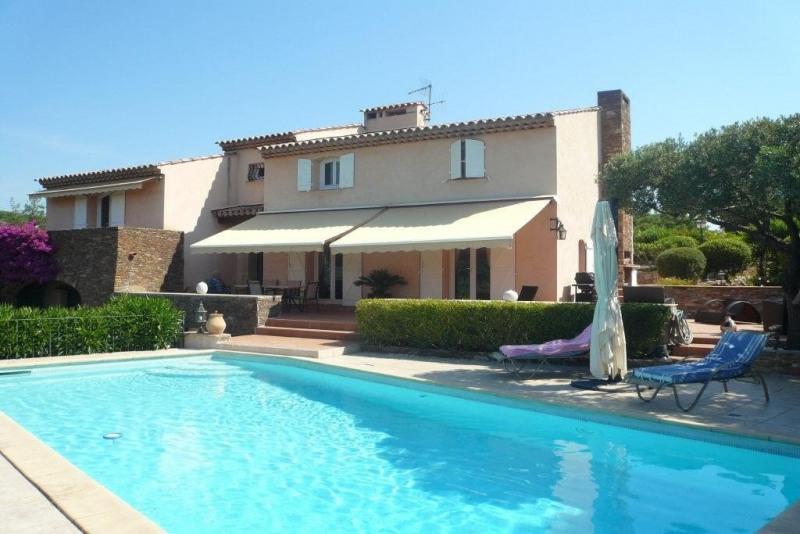 Deluxe sale house / villa Ste maxime 1575000€ - Picture 1