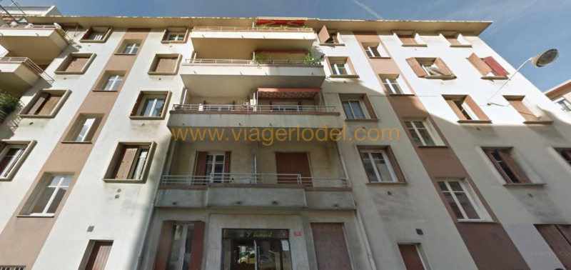 Life annuity apartment Nice 19 500€ - Picture 1