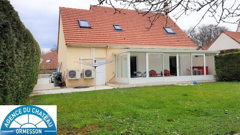 Sale house / villa La queue en brie 425000€ - Picture 1