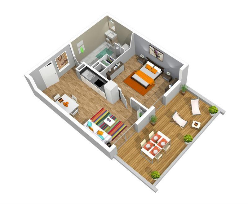 Les jardins de clarisse programme immobilier neuf for Programme 3d maison