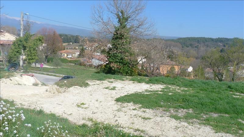 Verkoop  stukken grond Mormoiron 132000€ - Foto 2