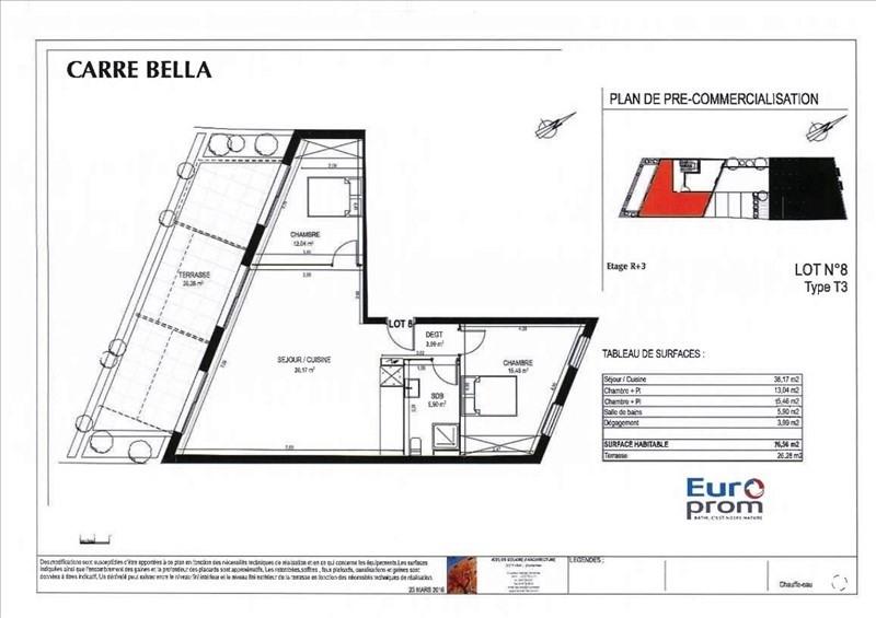 Sale apartment Montpellier 239500€ - Picture 3