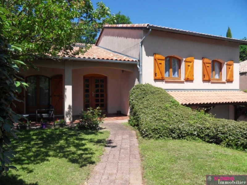 Deluxe sale house / villa Quint fonsegrives 510 000€ - Picture 1