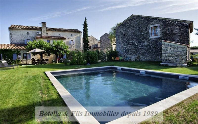 Vente de prestige maison / villa Lussan 789000€ - Photo 1