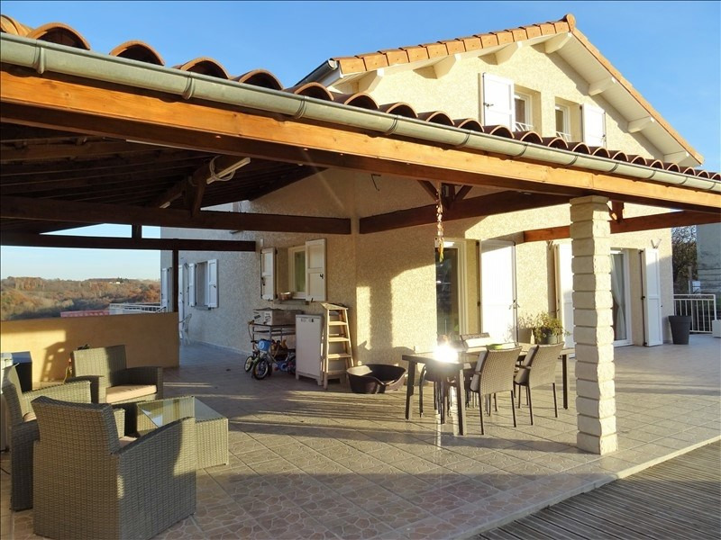 Vente maison / villa Heyrieux 415000€ - Photo 2