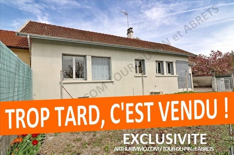 Vente maison / villa La tour du pin 119000€ - Photo 1