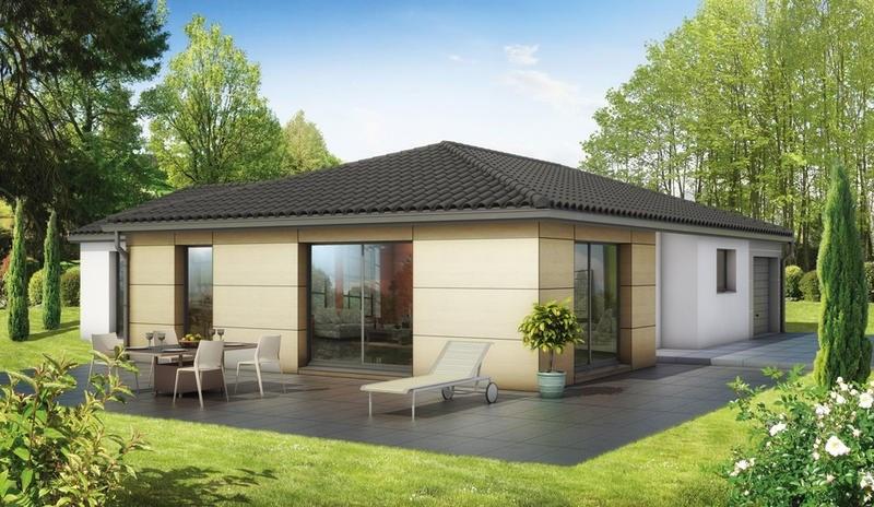 Maison  5 pièces + Terrain 1066 m² Aurières par ELAN AUVERGNE
