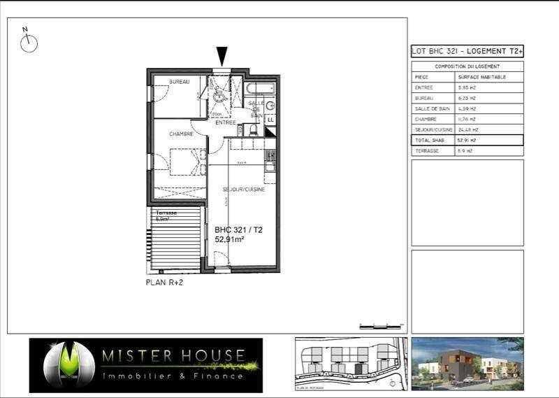 Sale apartment Montauban 139238€ - Picture 2