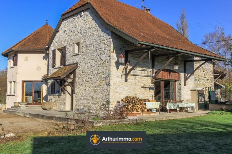 Sale house / villa Bron 425000€ - Picture 1