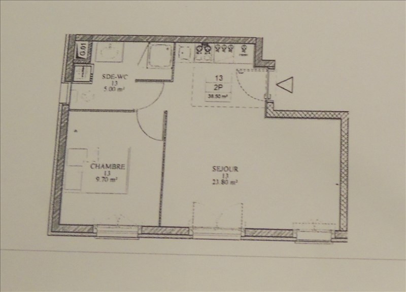 Vente appartement Melun 162945€ - Photo 5