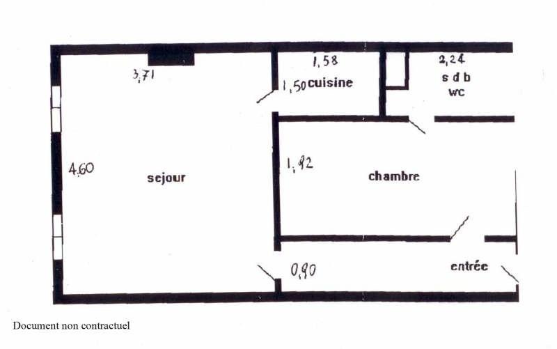 Location appartement Paris 7ème 1195€cc - Photo 4