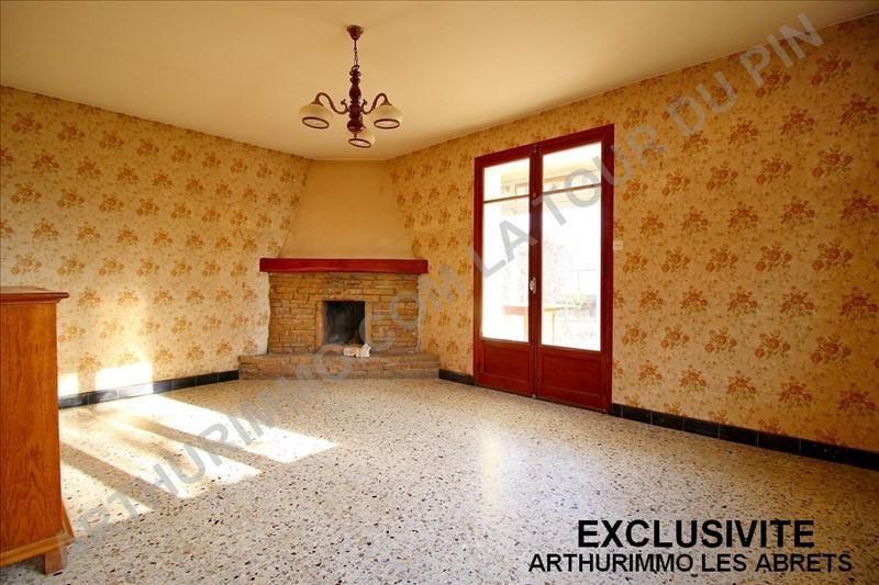 Vente maison / villa Pont de beauvoisin 110000€ - Photo 2