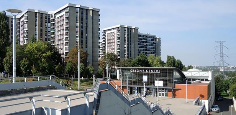 Producto de inversión  apartamento Grigny 55000€ - Fotografía 1