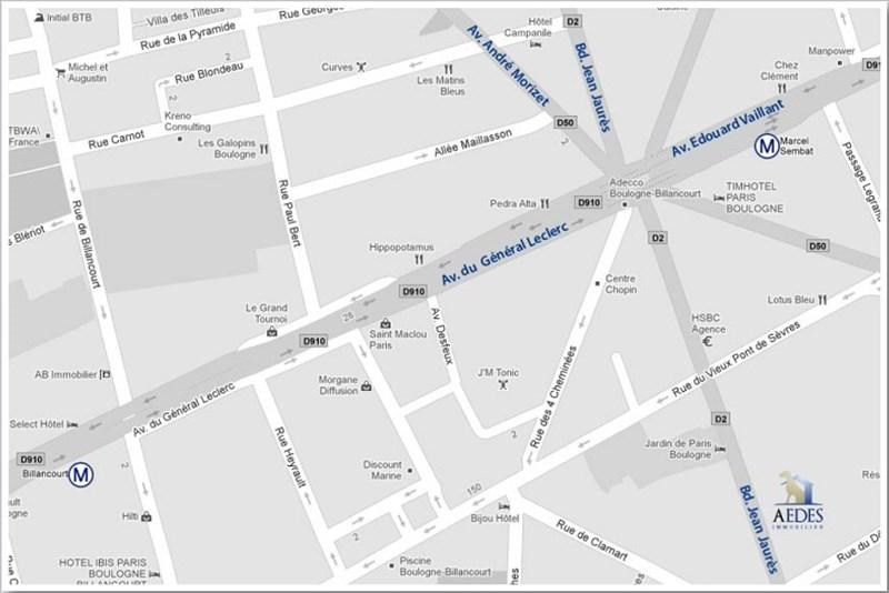 Location appartement Boulogne billancourt 1400€ CC - Photo 9