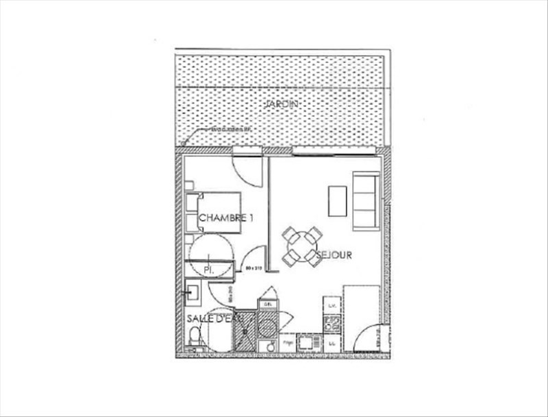 Sale apartment Perpignan 125000€ - Picture 3