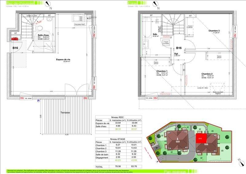 Vente appartement Vetraz monthoux 313000€ - Photo 2