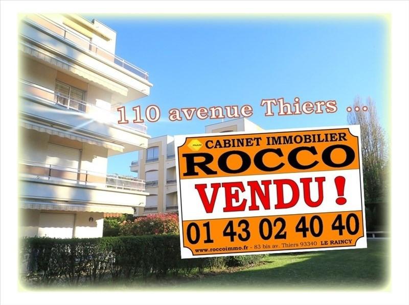Vente appartement Le raincy 272000€ - Photo 1