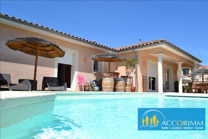 Vente de prestige maison / villa Toussieu 610000€ - Photo 2