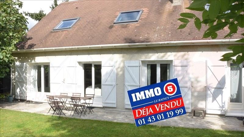 Vente maison / villa Le raincy 499000€ - Photo 1