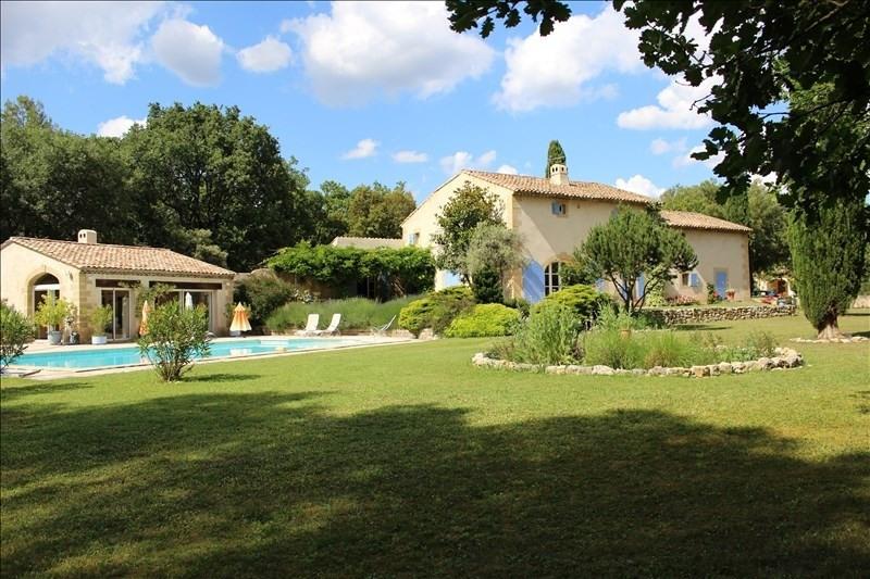 Deluxe sale house / villa St cannat 1040000€ - Picture 1