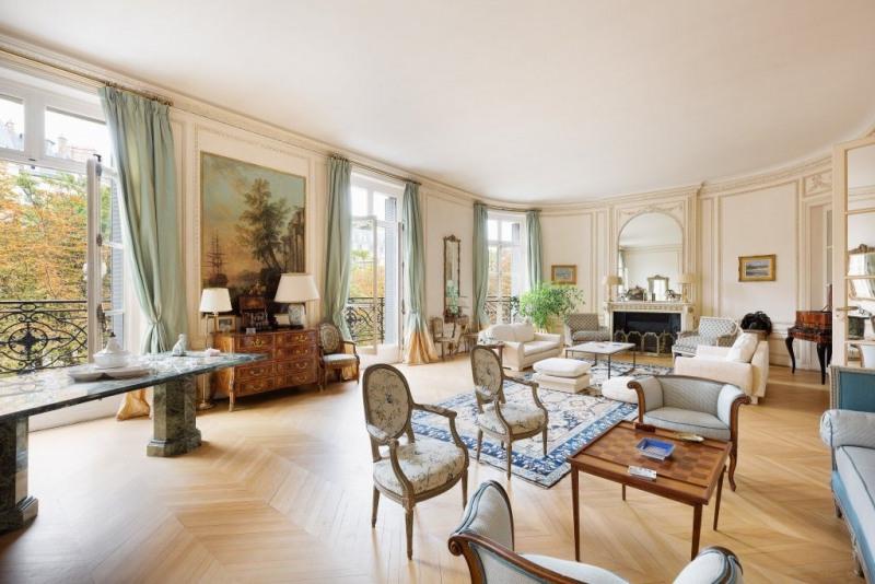 Revenda residencial de prestígio apartamento Paris 16ème 7500000€ - Fotografia 1