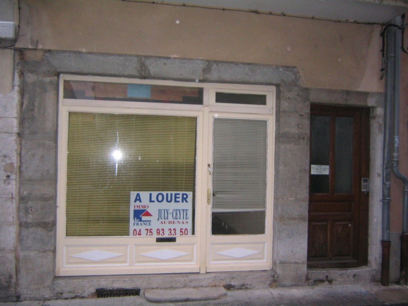 Location boutique Aubenas 225€ CC - Photo 1