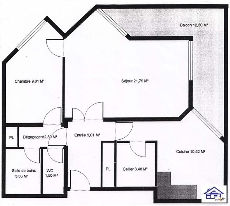 Rental apartment Saint germain en laye 900€ CC - Picture 4