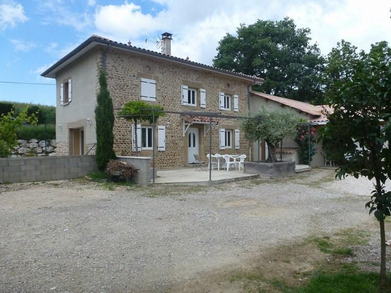 Sale house / villa Chateauneuf de galaure 249000€ - Picture 1