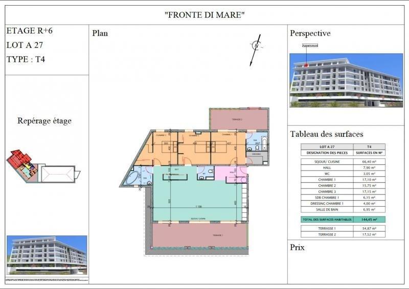Vente de prestige appartement Propriano 700000€ - Photo 3