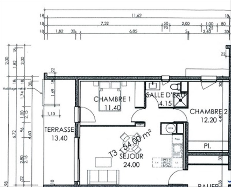 Vente de prestige appartement Perpignan 175000€ - Photo 2