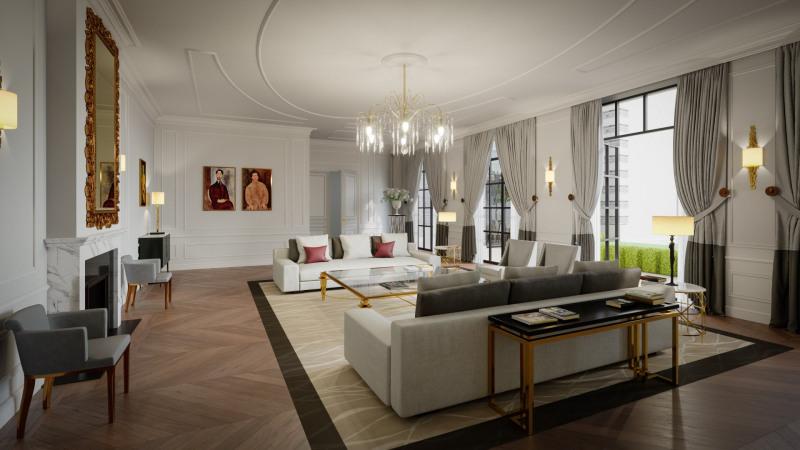 Revenda residencial de prestígio palacete Paris 7ème 39900000€ - Fotografia 5