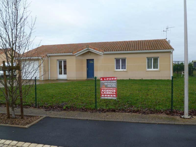 Location maison / villa St benoit 895€ CC - Photo 1