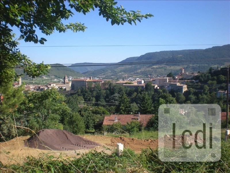 Vente terrain Privas 75000€ - Photo 1