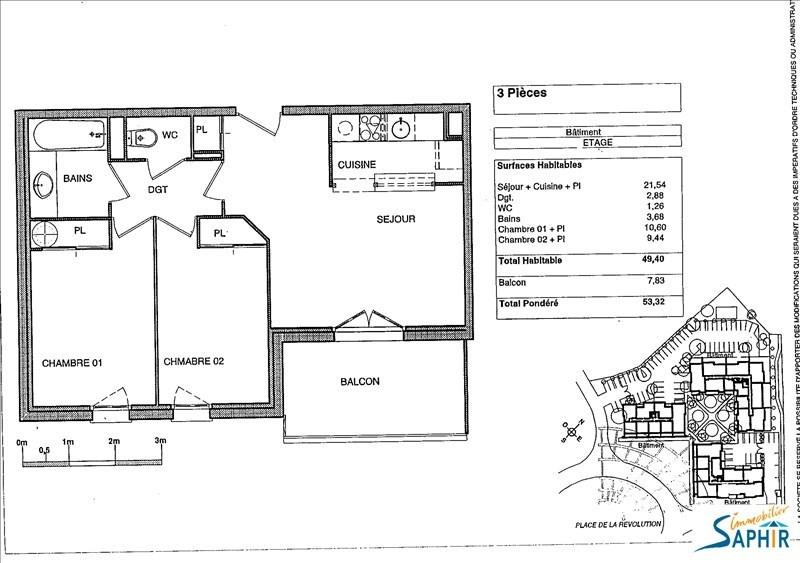 Vente appartement Blagnac 139000€ - Photo 2