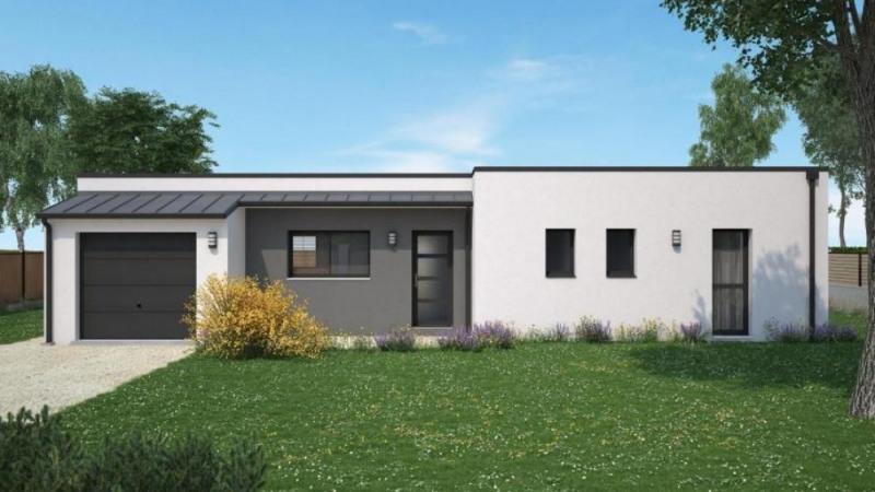 Maison  4 pièces + Terrain 500 m² Villandry par maisons Ericlor