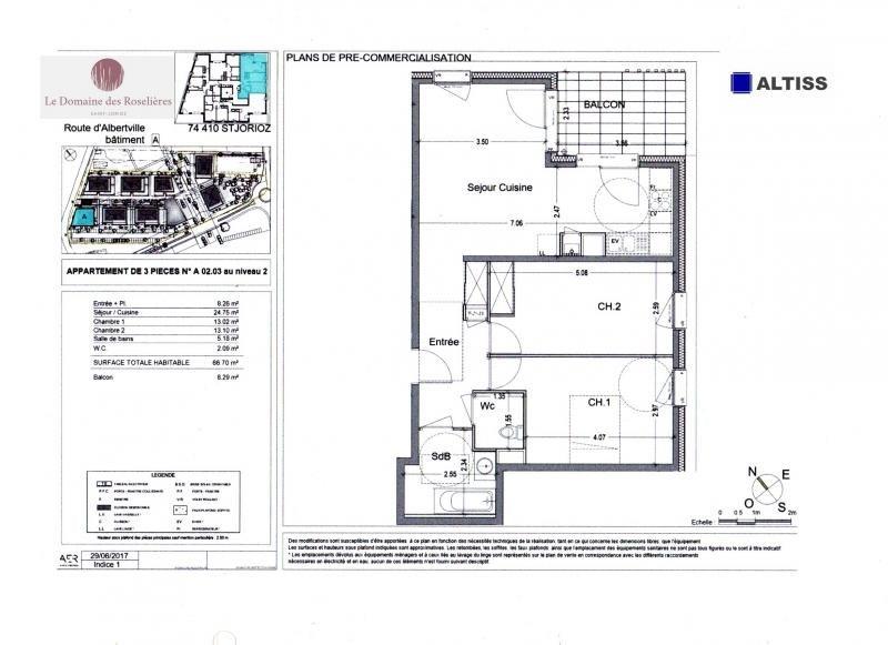 Vente appartement Saint jorioz 265000€ - Photo 2